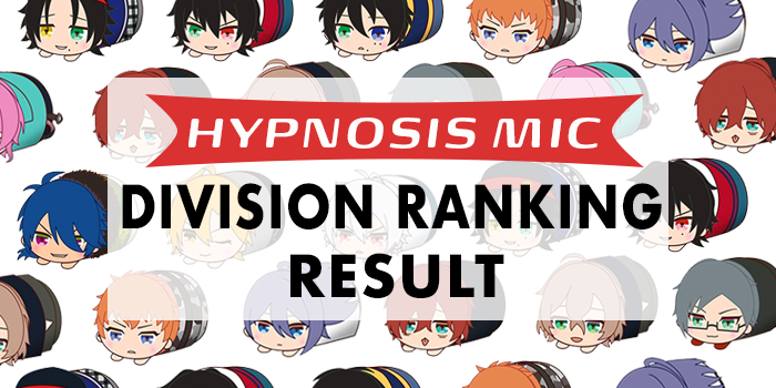 Hypnosis Mic – Division Ranking Result