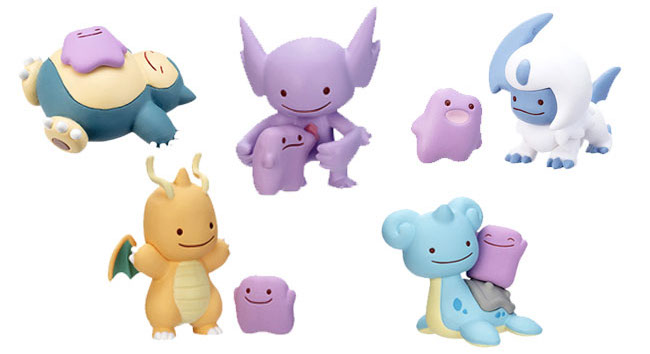 Ditto Transforms! Mini Figurines