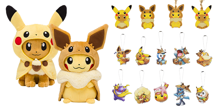 Fan of Pikachu & Eevee Collection