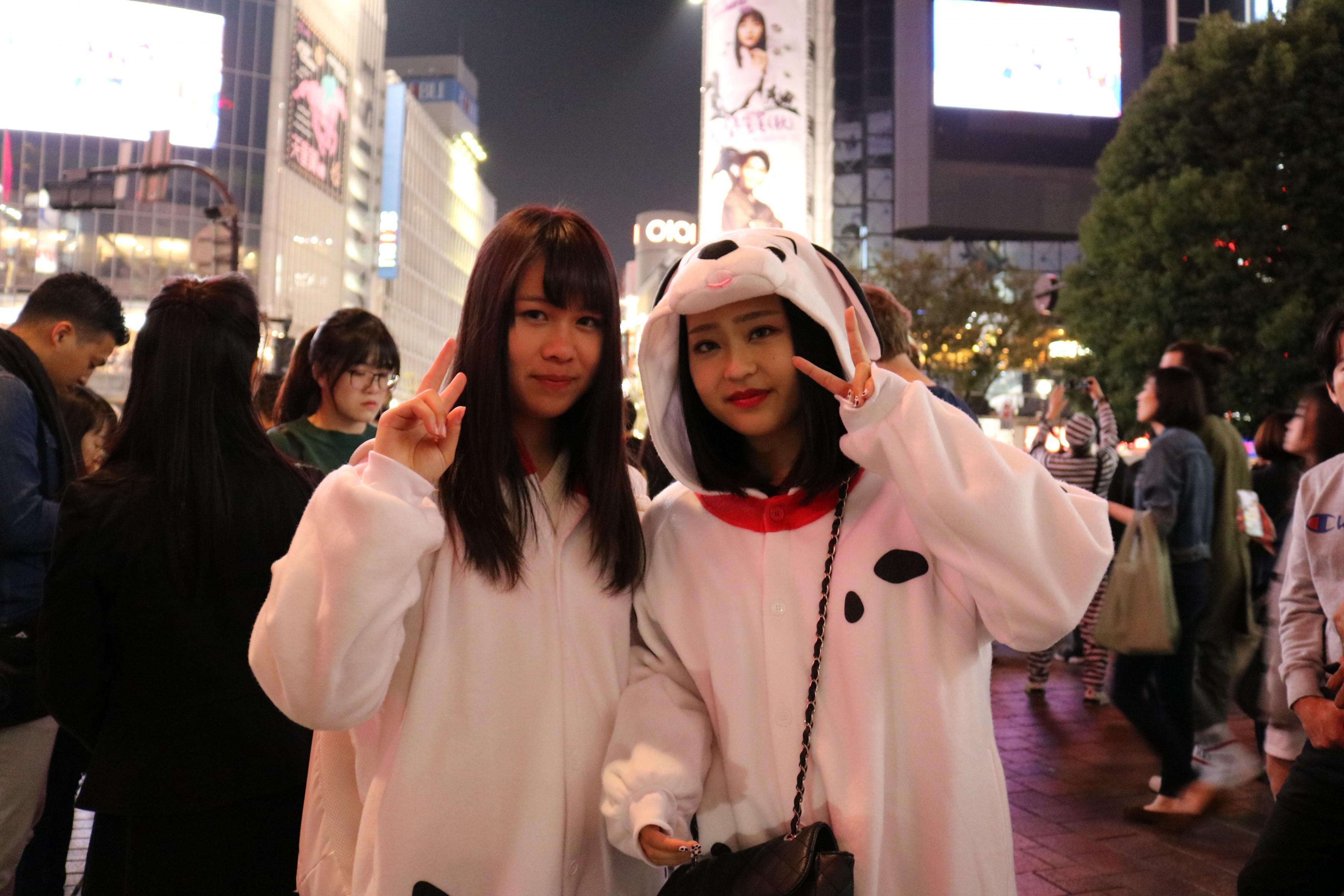 Halloween Costume Shibuya Dog Kigurumi