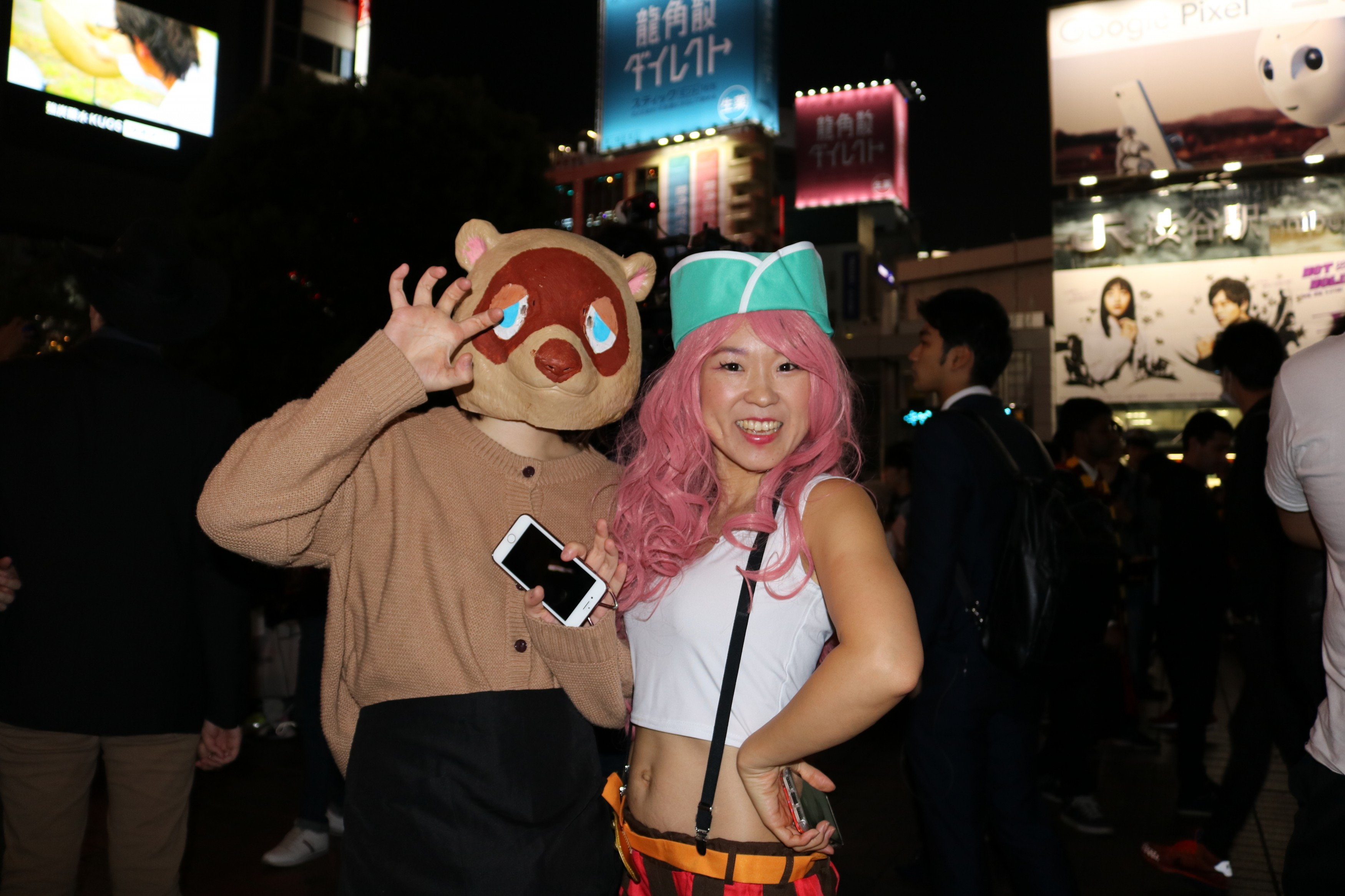 Hallowen Costume Shibuya Tom Nook and Jewelry Bonney