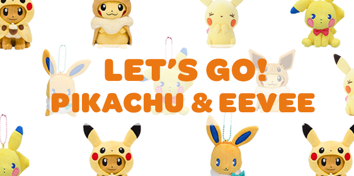 Let's Go Pikachu and Eevee: the cutest duo in Pokemon!