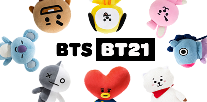 BT21 – BTS' Adorable Collaboration with LINE Friends