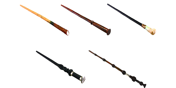 Fantastic Beasts: The Crimes of Grindelwald capsule toy wands