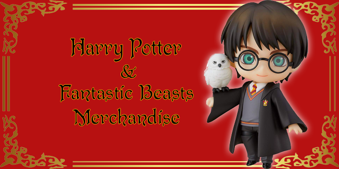 Japan-exclusive Harry Potter and Fantastic Beasts Merchandise