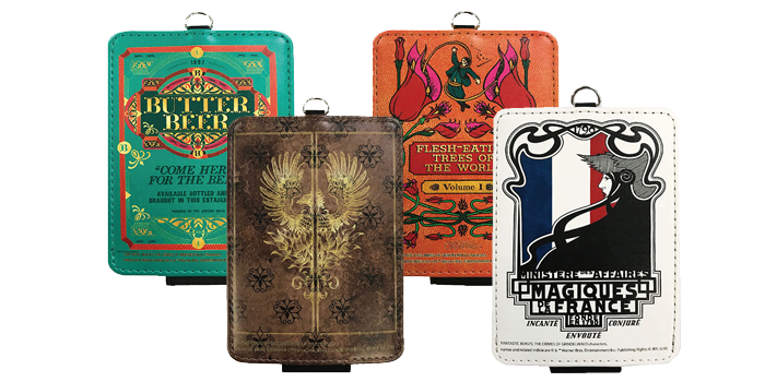 Fantastic Beasts Travel Pass Cases