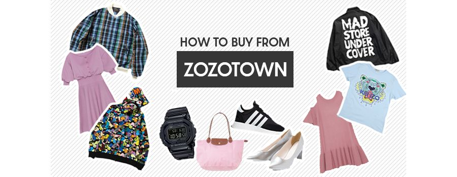 How to buy from Zozotown