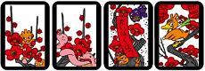 hanafuda ume plum blossom