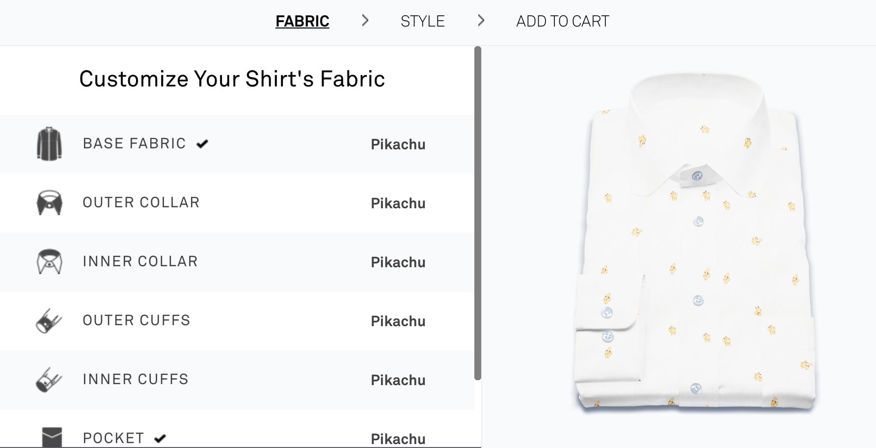 Original Stitch Pokemon Shirt Designer