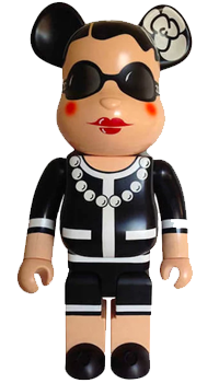 Bearbrick Chanel (Coco Chanel) 1000%