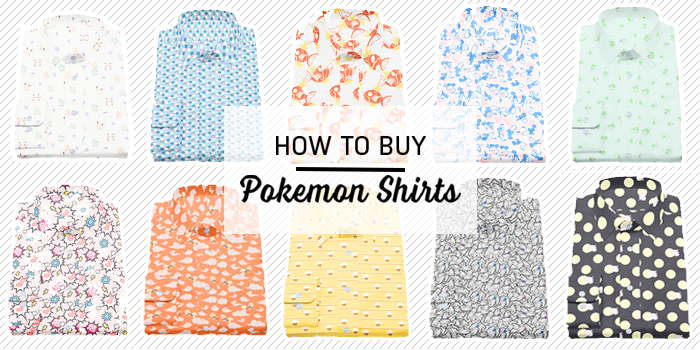 Pokemon Shirts Shopping Guide: How to order and buy Pokemon Shirts from Original Stitch