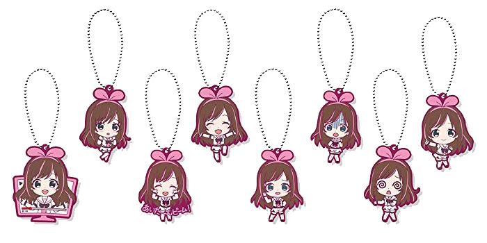 Kizuna AI Rubber Mascots
