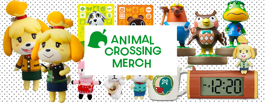 Animal Crossing Merchandise for those waiting for New Horizons!