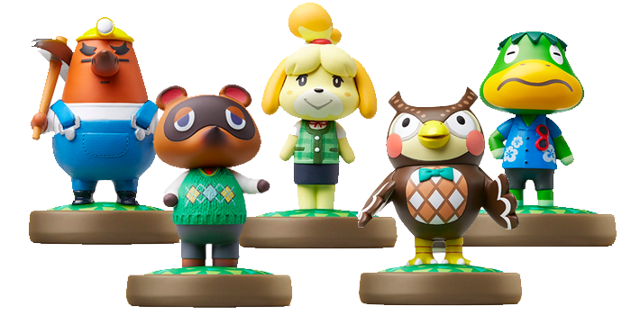 Animal Crossing amiibo Figures