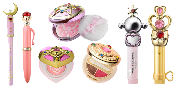 Sailor Moon Makeup and Cosmetics