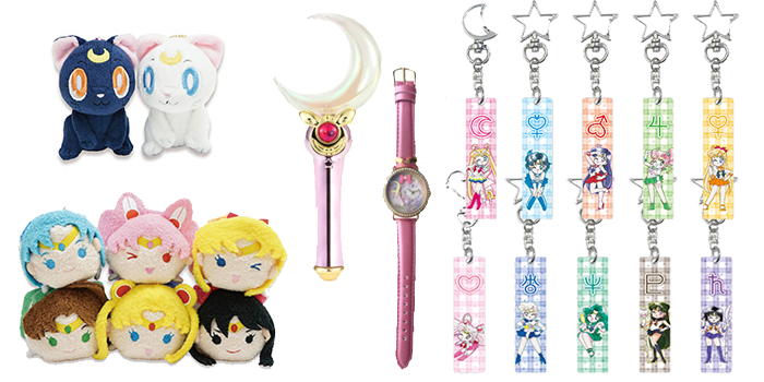 Sailor Moon Store Original Items