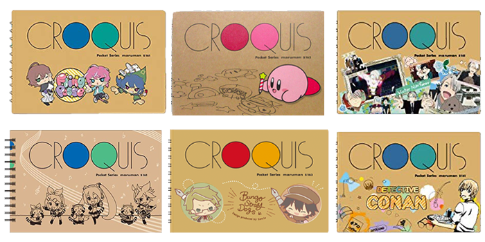 Croquis Sketch Pads