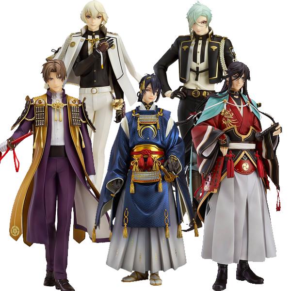 Touken Ranbu 1/8 Scale Figures