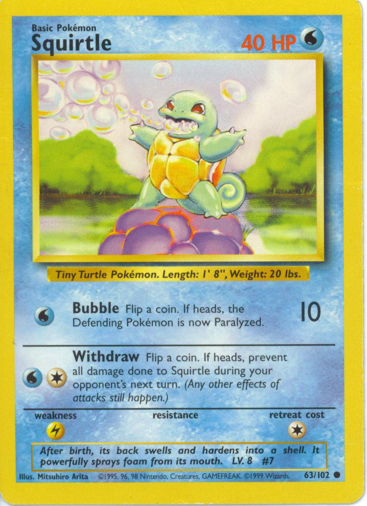 Squirtle (Base Set 63)