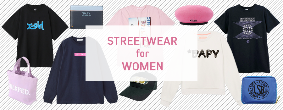 Five Amazing Women's Streetwear Brands Fresh Off the Harajuku Streets