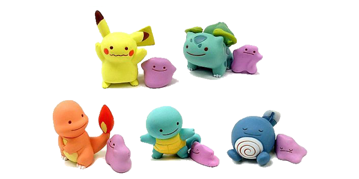Ditto Transforms Mini Figures Wave 1