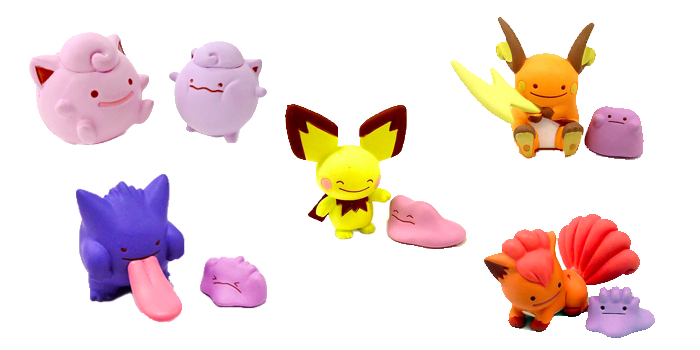 Ditto Transforms Mini Figures Wave 2