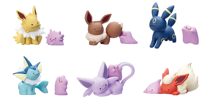 Ditto Transforms Mini Figures Wave 3