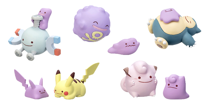 Ditto Transforms Mini Figures Wave 4