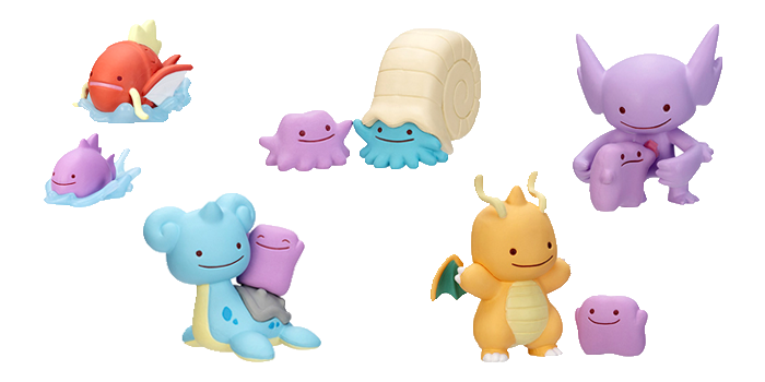 Ditto Transforms Mini Figures Wave 5