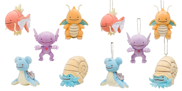 Ditto Transforms Plushies Wave 5