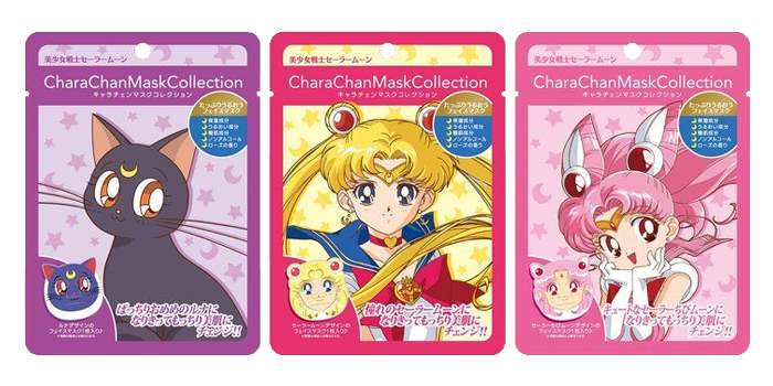 Sailor Moon Chara Chan Sheet Masks