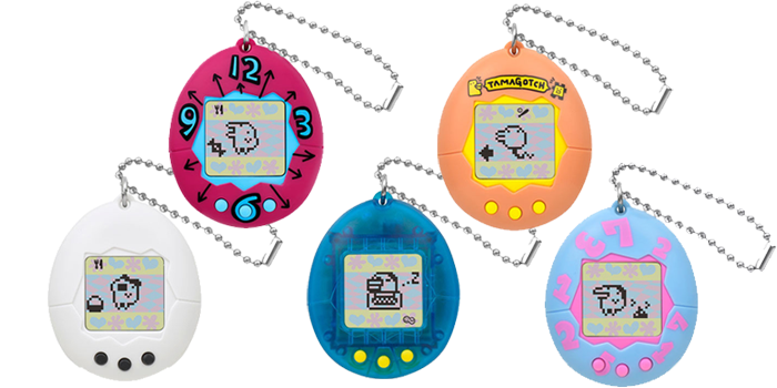Tamagotchi over the years - the ultimate pet in your pocket