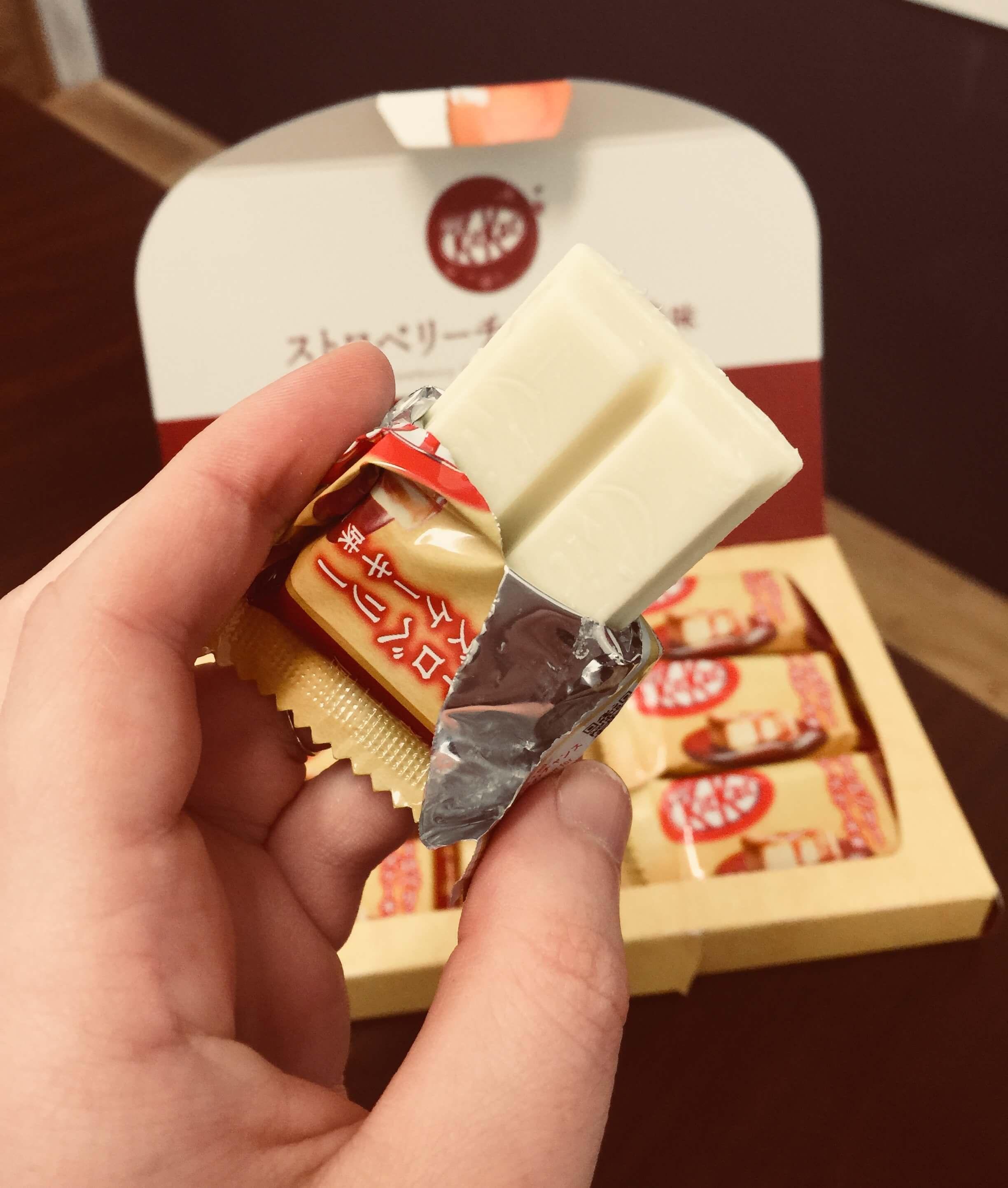 Japanese Strawberry Cheesecake Kit Kat
