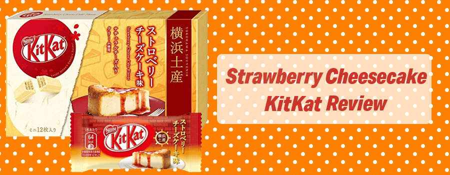 Japanese Strawberry Cheesecake Kit Kat Review