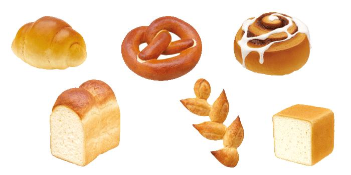 Bread Mascots