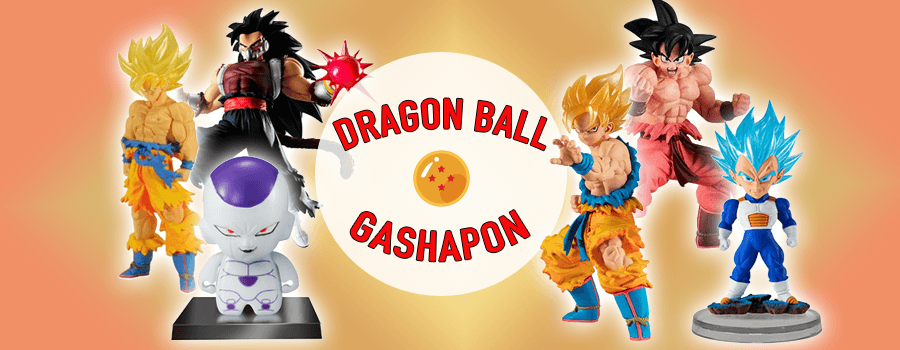 Dragon Ball Gashapon Figures – Pocket-sized Saiyans That Pack a Punch!