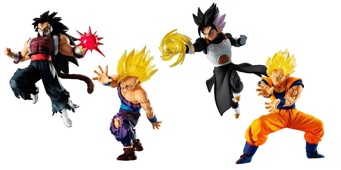 Dragon Ball Gashapon VS