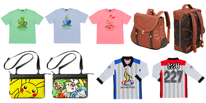 Pokemon Sword and Shield Pokemon Center Apparel and Accessories