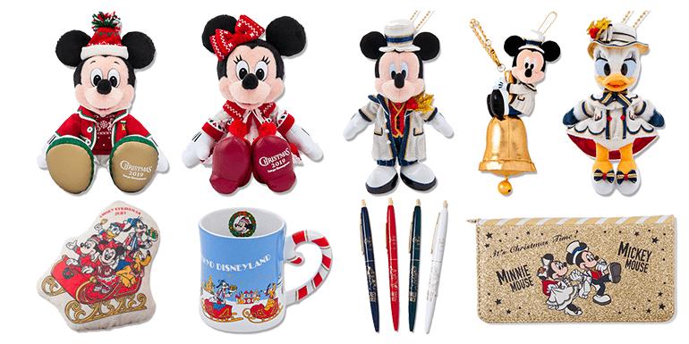 Tokyo Disney Resort Christmas Collection 2019 (Tokyo Disneyland and Tokyo DisneySea)