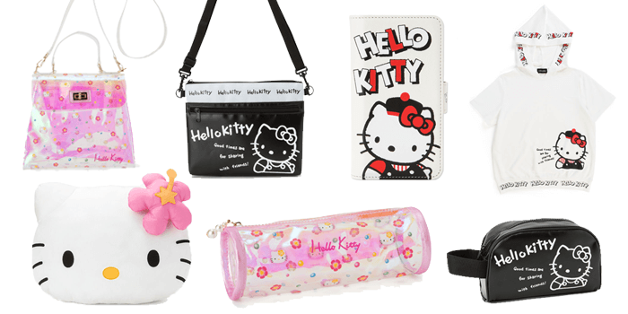 Hello Kitty 45th Anniversary 80s and 90s Collections