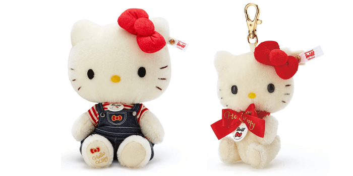 Hello Kitty 45th Anniversary Steiff Teddy Bear
