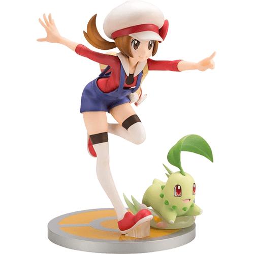 #08 Lyra and Chikorita Pokemon ARTFX J Figure