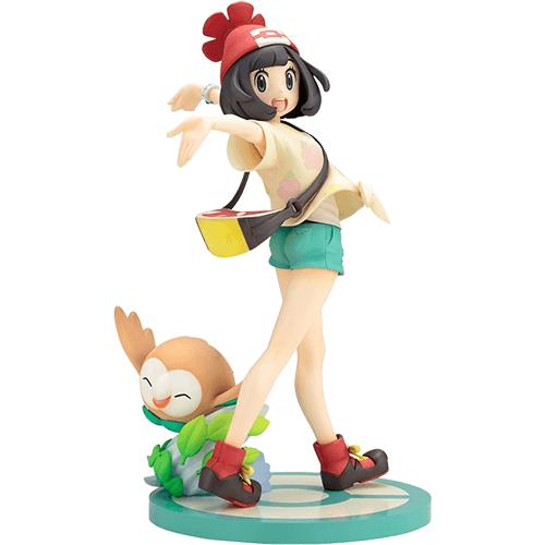 #06 Selene and Rowlet Pokemon ARTFX J Figure