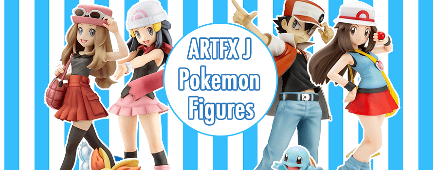 Pokemon Trainer ARTFX J Figures