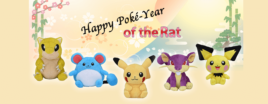 Celebrating the Year of the Rat – Pokemon Style!