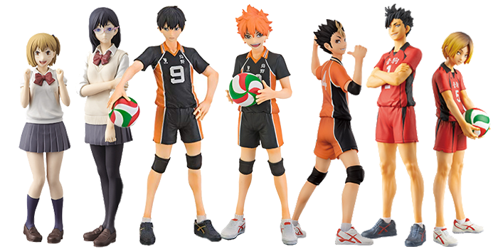 Haikyuu!! DXF Figures