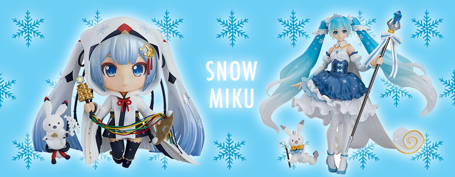 Snow Miku – The wintry version of the virtual songstress!