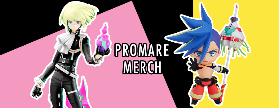 Promare Merch Roundup – show your love for Promare with flair!