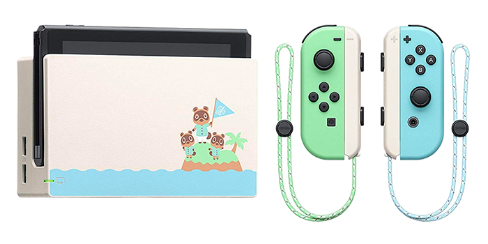 Animal Crossing Nintendo Switch, Dock and Joy-Cons