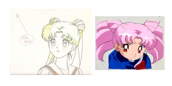 anime cel sailor moon